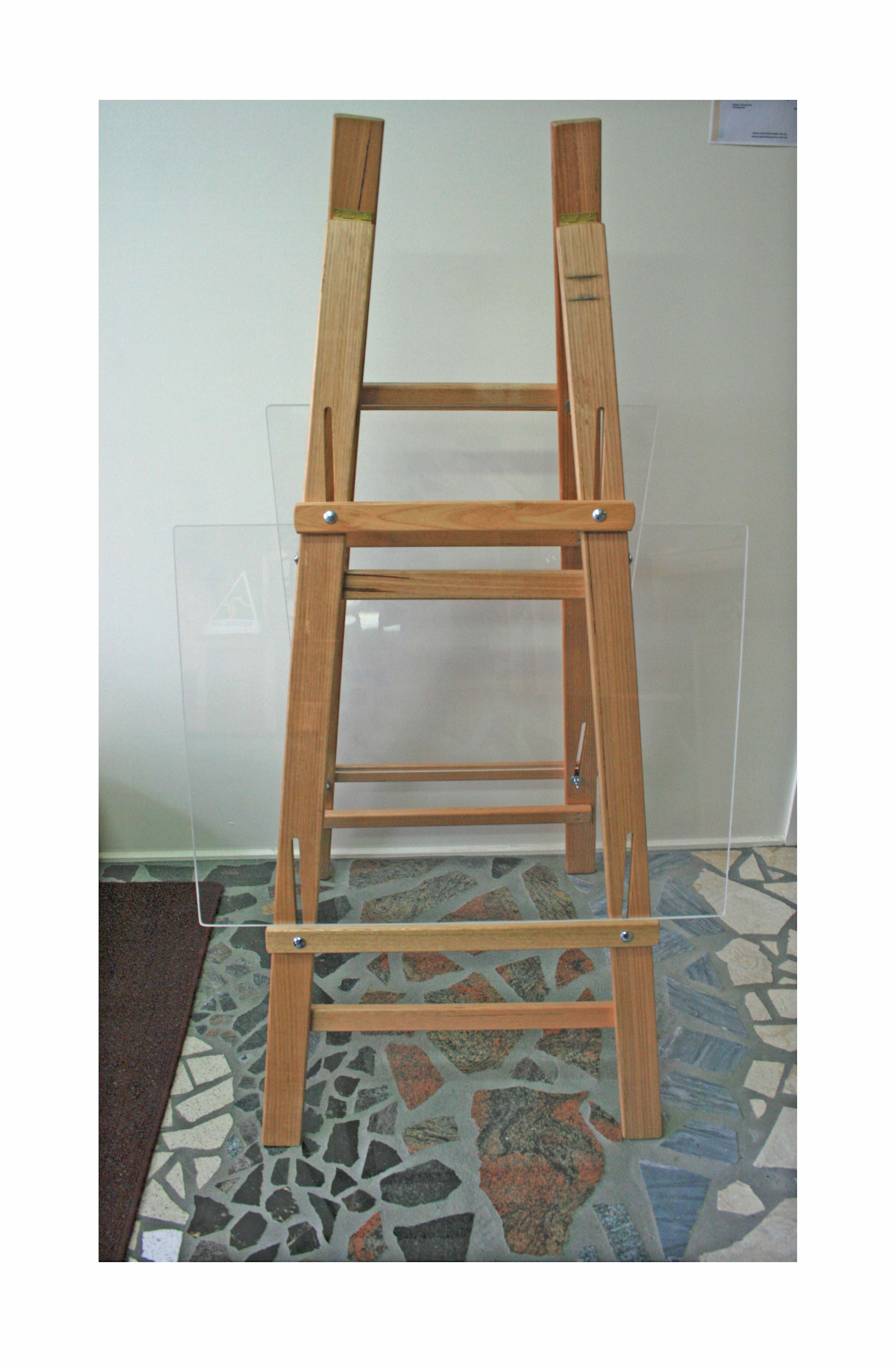AR222 Hardwood Double Sided Adjustable Painting Easel With