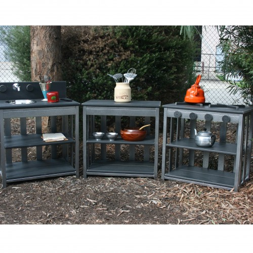 OPEN PLAY Outdoor Kitchen Starter Set by M.A.N Made Creations